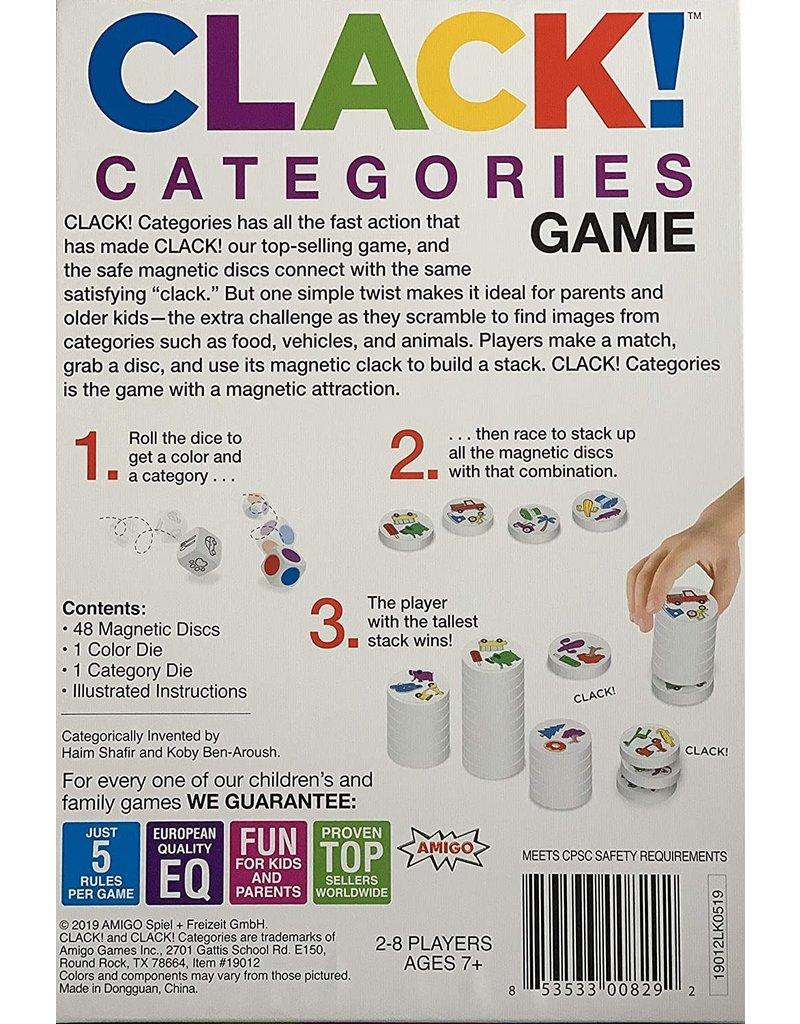 Amigo Games Clack Categories