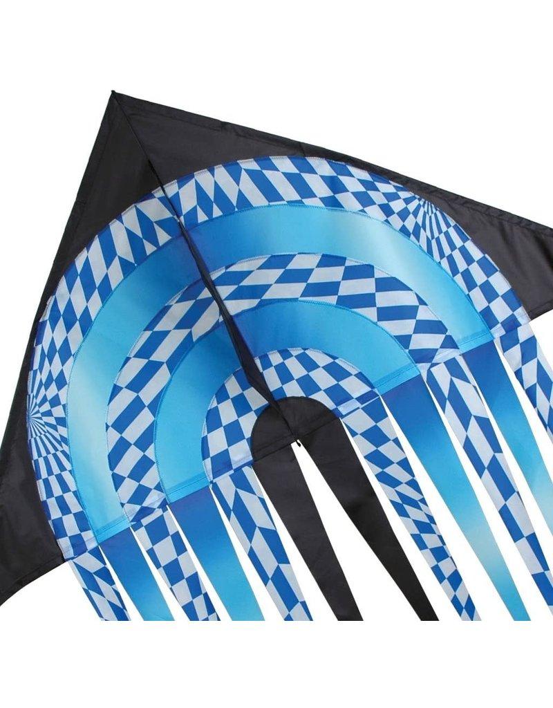 Premier Kites 56 In. Stream Delta - Blue Opt