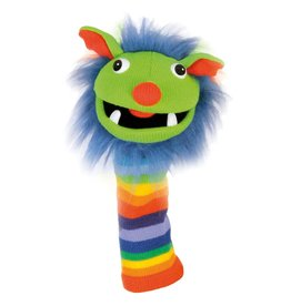 the Puppet Company Rainbow Knitted Puppet