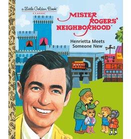 Random House Mr Rogers - Henrietta Meets Someone New