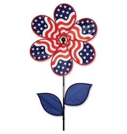 "Premier Kites Patriotic Flower Spinner 19"""
