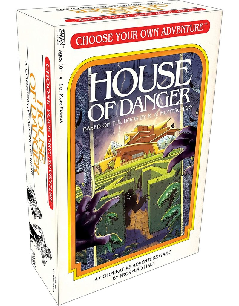 CHOOSECO Choose Your Own Adventure: House of Danger