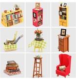 Hands Craft DIY Miniature Sam's Study Room