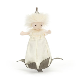 Jellycat White Fluffkin Doll