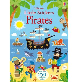 Usborne Little Stickers Pirates
