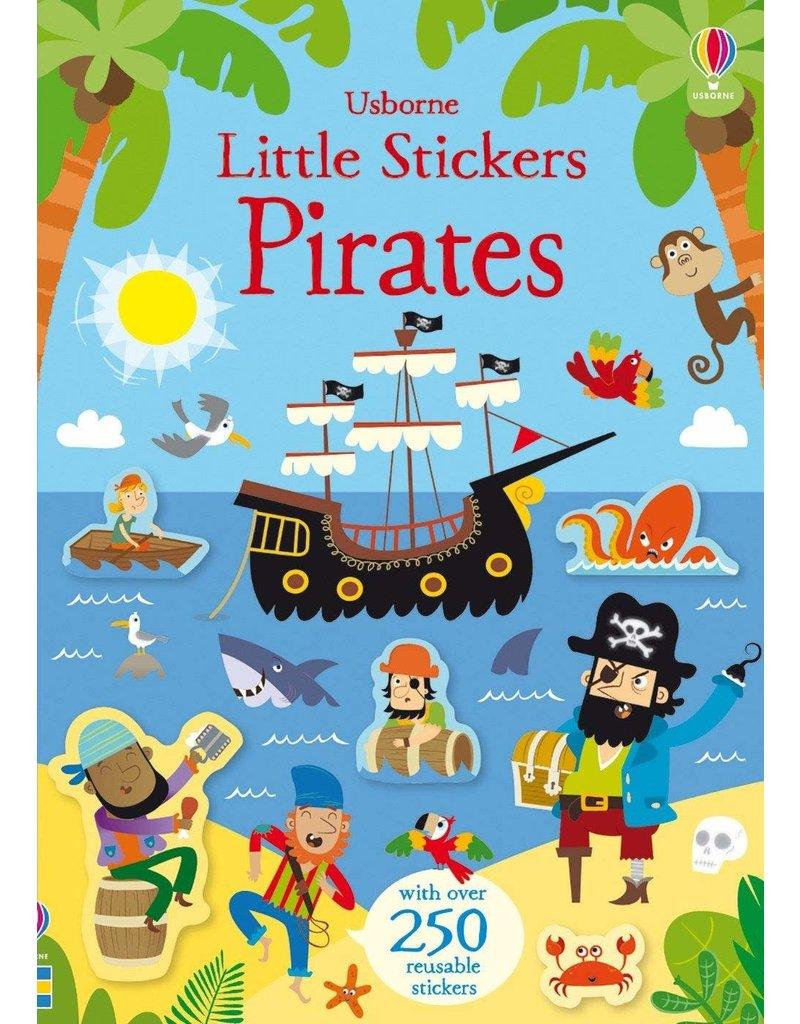 Usborne Little Stickers Pirates