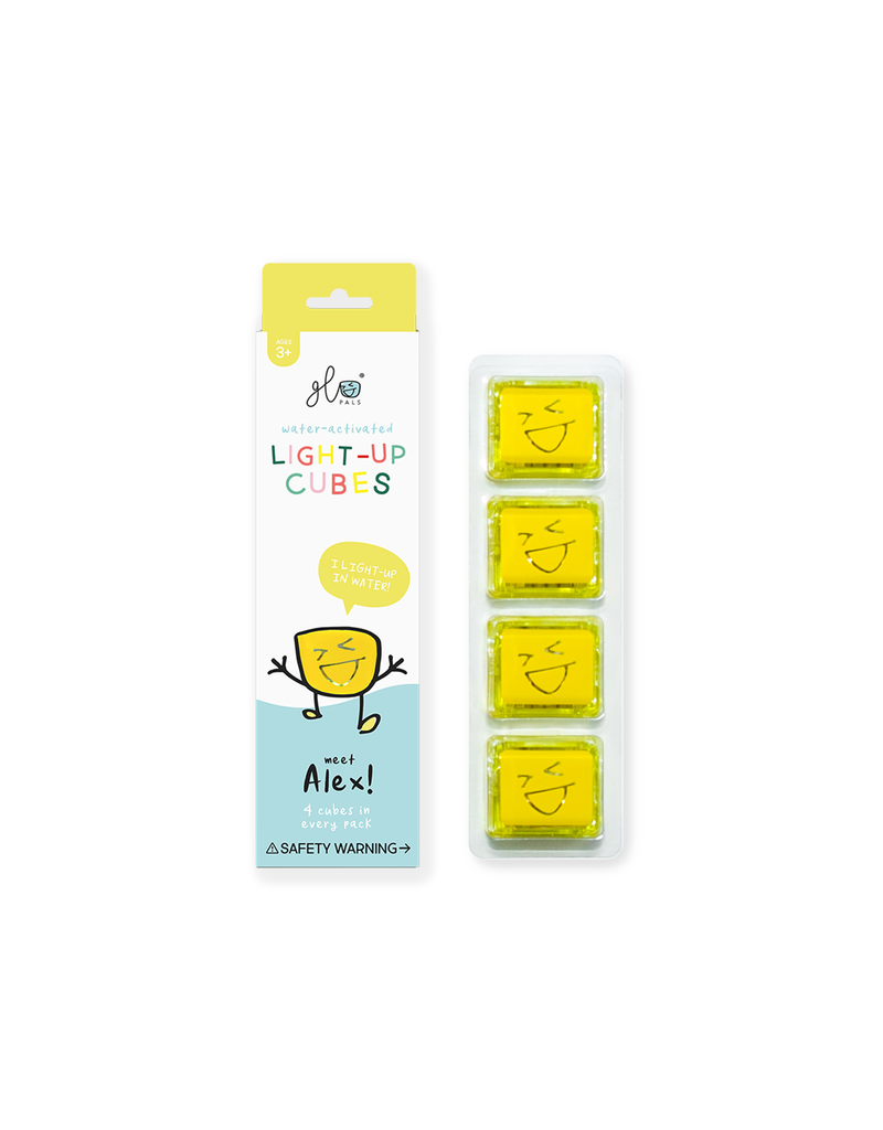 Glo Pals GLO PALS -4 pack Yellow