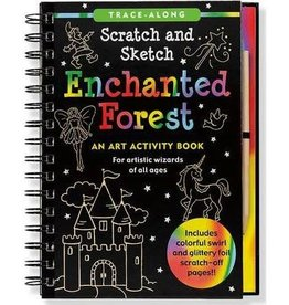 Peter Pauper Scratch and Sketch Enchanted Forest