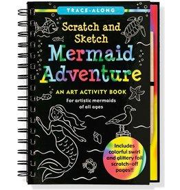 Peter Pauper Scratch and Sketch Mermaid