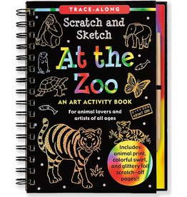 Peter Pauper Scratch and Sketch Zoo
