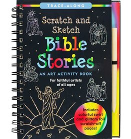Peter Pauper Scratch and Sketch Bible Stories
