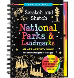 Peter Pauper Scratch and Sketch National Parks