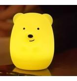 Lumieworld LED Bear Night Light w/Remote