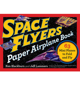 Workman Pub Space Flyers Paper Airplane Book