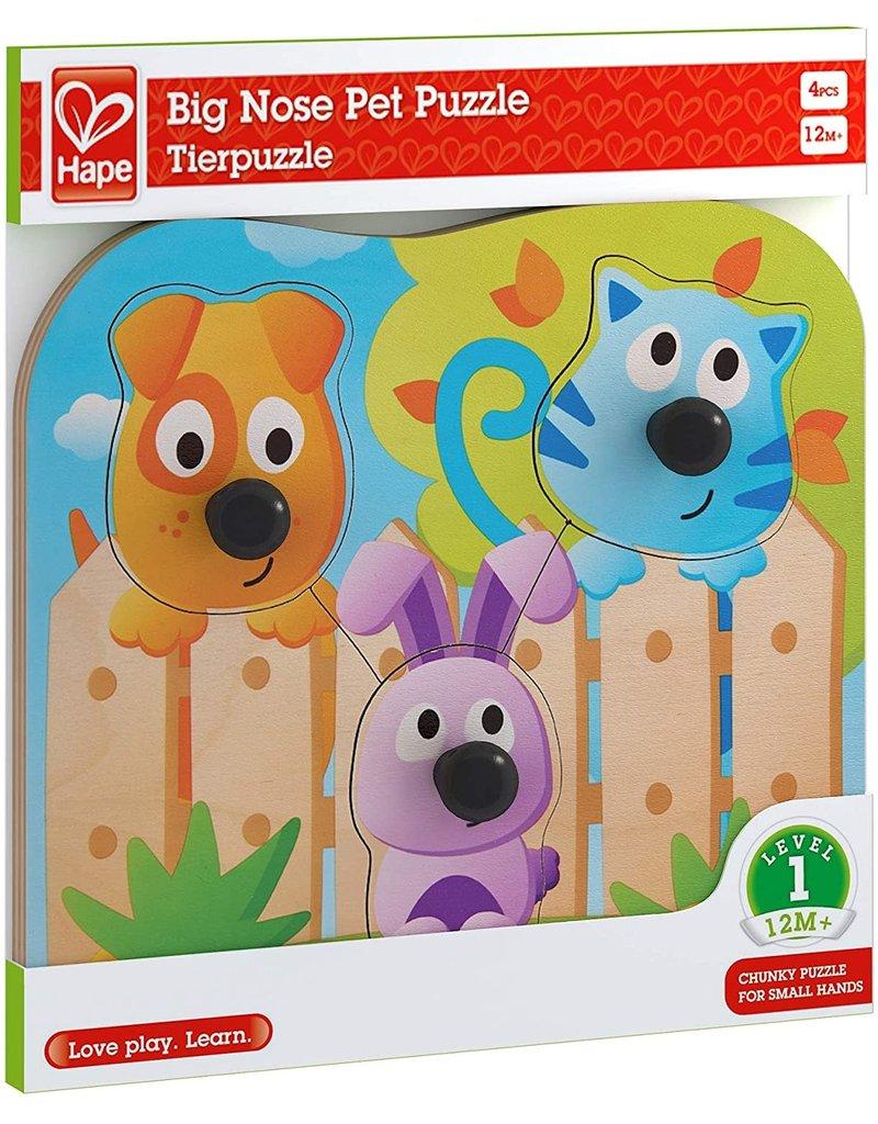 Hape Big Nose Pet Puzzle