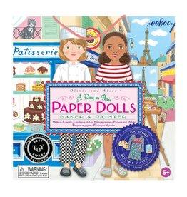 Eeboo Paper Dolls Baker & Painter