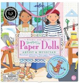Eeboo Musician & Artist Paper Doll Set