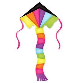 Premier Kites Super Flyer Neon Prism Kite