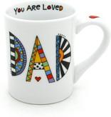 Enesco Cuppa Doodle Dad Mug