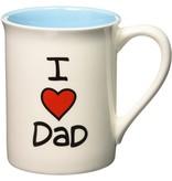 Enesco I Heart Dad Mug