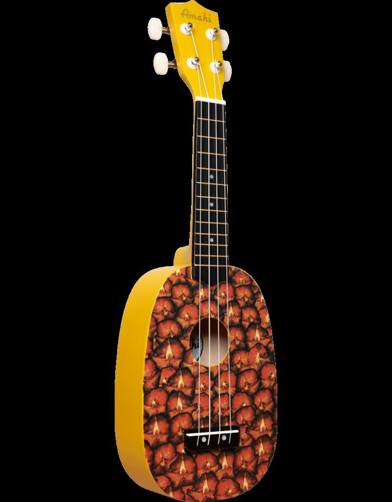 Amahi Ukuleles Amahi Pineapple Ukulele, Soprano