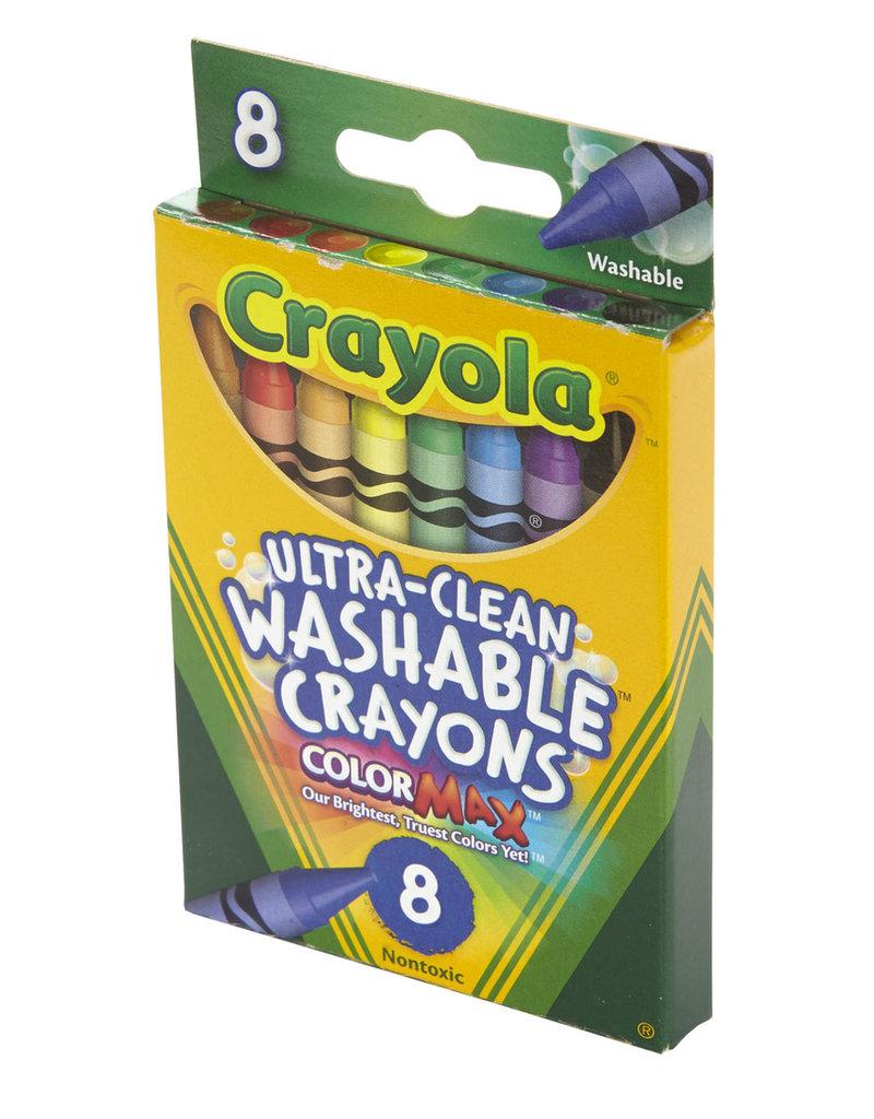 Crayola Crayola Washable Crayons 8pc