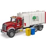 Bruder MACK Recycle Garbage Truck