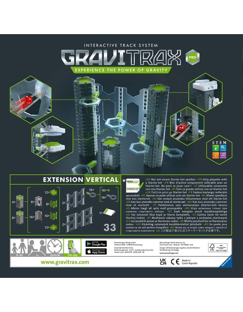Ravensburger Gravitrax Pro Vertical Expansion Set