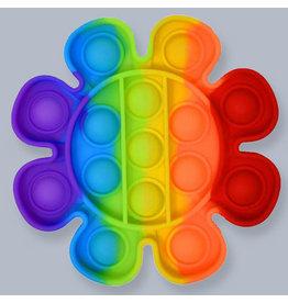 Jeannie's Ent Pop Fidget Rainbow Flower