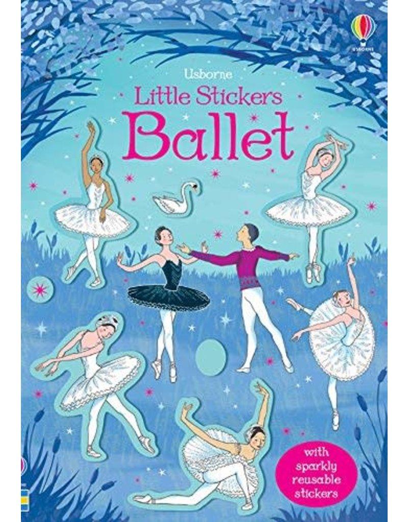 Usborne Little Sticker Ballet (foil)