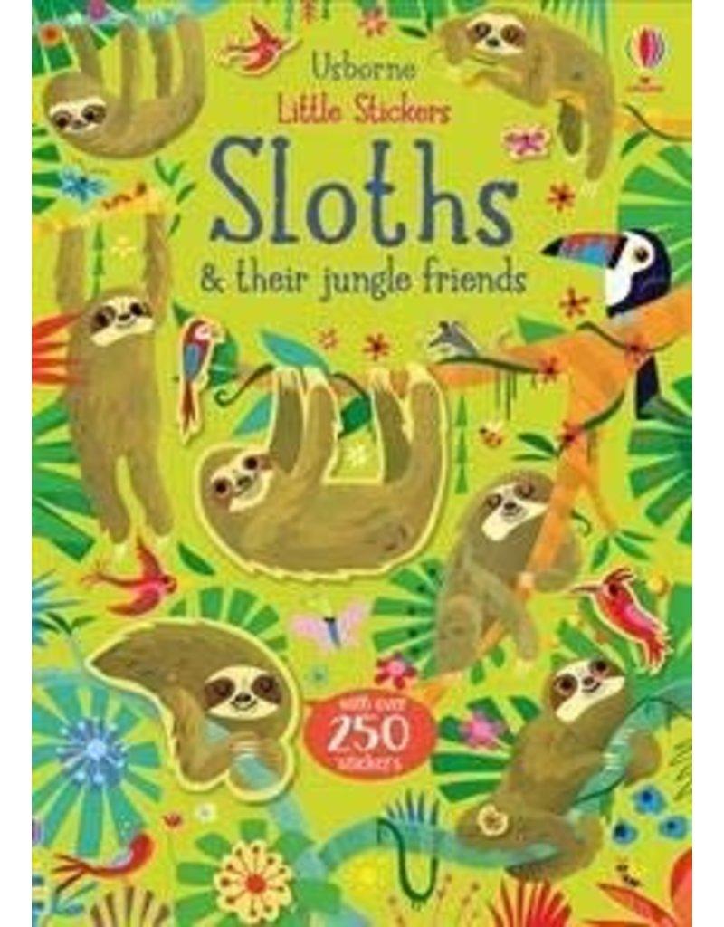 Usborne Little Sticker Sloths