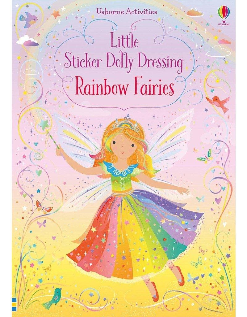 Usborne Little Sticker Rainbow Fairies