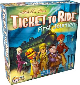 Days of Wonder Ticket To Ride First Journey US