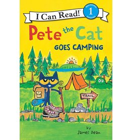 Harper Collins Pete the Cat Goes Camping, Level 1