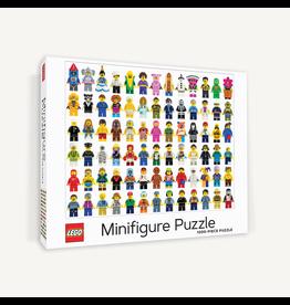 Chronicle Books Lego Minifigure 1000 pc puzzle