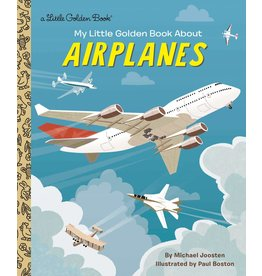 Random House My Little Golden Book about Airplanes