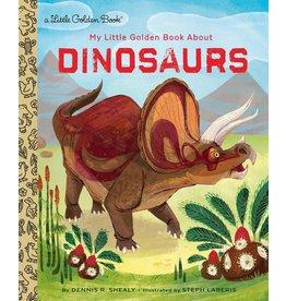 Random House My Little Golden Book about Dinosaurs