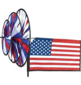 Premier Kites Triple Spinner American Flag