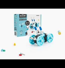 Fat Brain OffBits - GearBit Blue Car