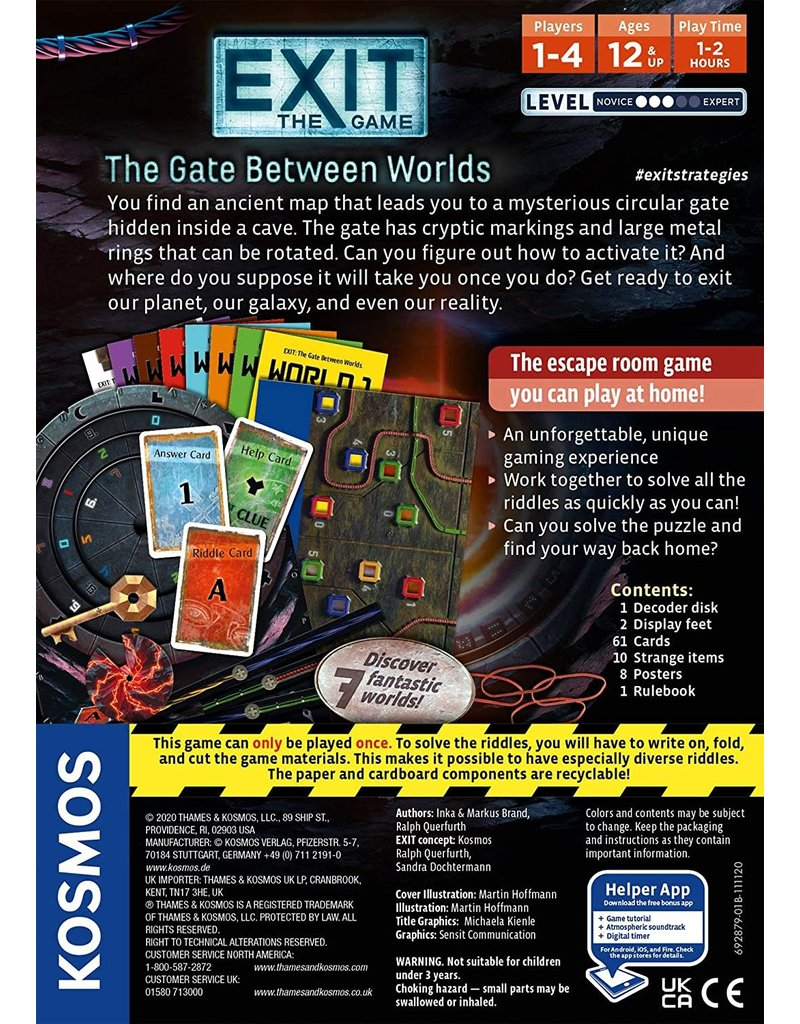 Thames and Kosmos EXIT: The Gate Between Worlds