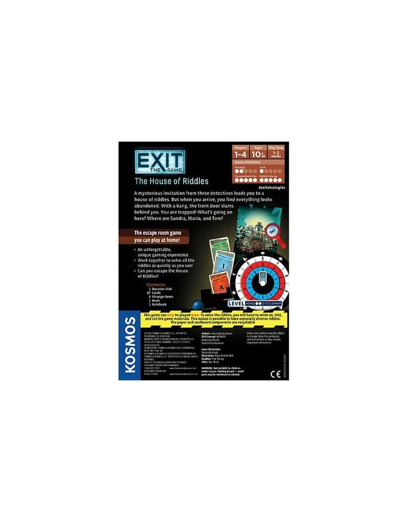 EXIT: The Game EXIT: The House of Riddles