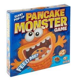 Blue Orange Pancake Monster