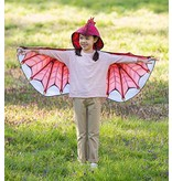HearthSong Hooded Dragon Wings- Red