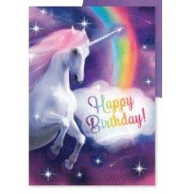 Peaceable Kingdom Happy Birthday Glitter Unicorn