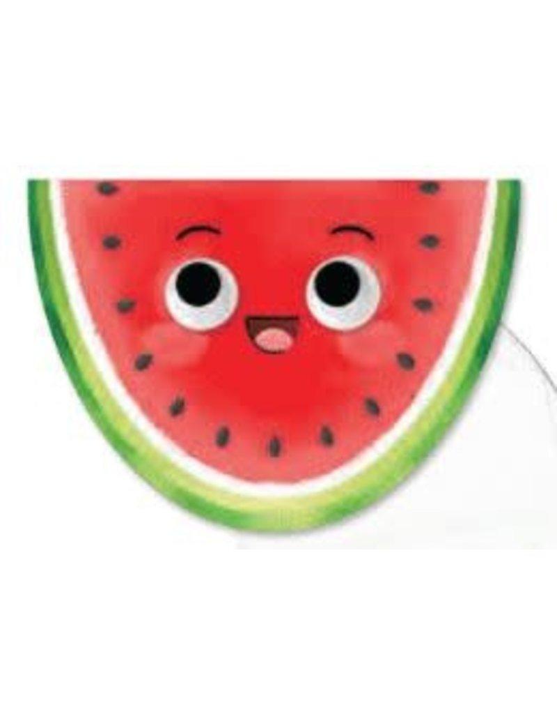 Peaceable Kingdom Happy Birthday Googly Eye Watermelon Card