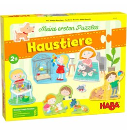 Haba USA My Very First Puzzle Pets