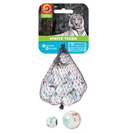Play Visions White Tiger Marbles
