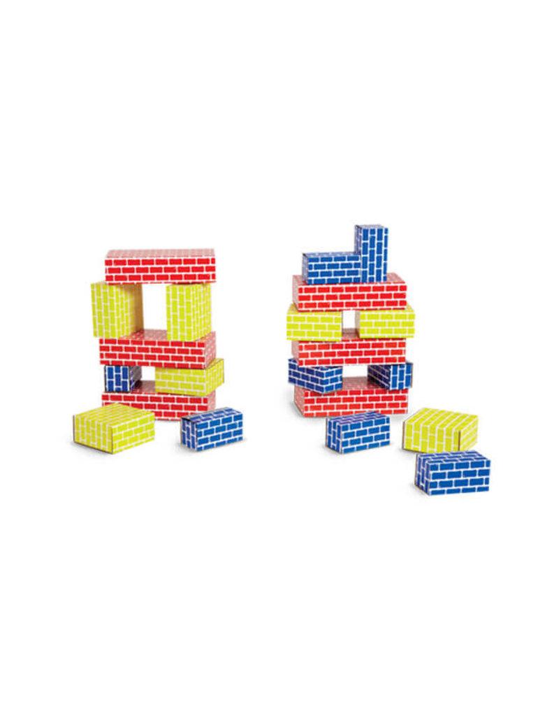 edushape Cardboard Blocks - 36 Pc