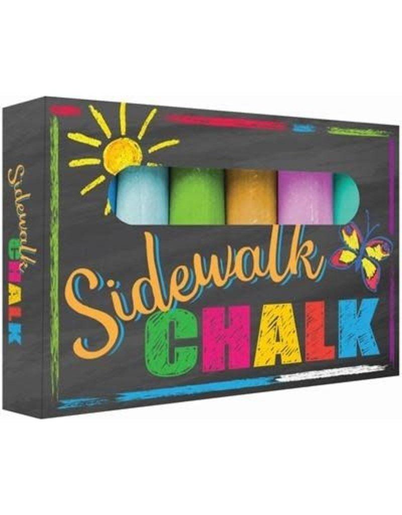6 pc Sidewalk Chalk
