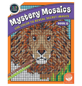 Mindware Mystery Mosaics Book 8